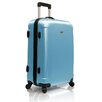 """Traveler's Choice Freedom Lightweight Hard-shell 25"""" Spinner Suitcase in Arctic Blue"""