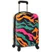 "Traveler's Choice 21"" Hardside Carry-On Spinner Luggage"