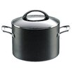 Raymond Blanc Professional 24cm Non-Stick Hard Anodised Stockpot with Lid