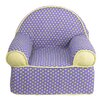 Cotton Tale Periwinkle Kids Club Chair