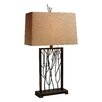 "Dimond Lighting Legacies Belvior Park 33"" H Table Lamp with Rectangular Shade"