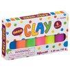 Toysmith Neon Mini Clay (Set of 6)
