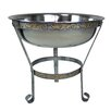 "Oakland Living 20"" Stainless Steel Ice Bucket with Stand"