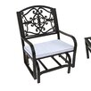 Oakland Living Lakeville Glider Chair with Cushion