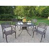 Oakland Living Capitol Mississippi Dining Set