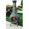 Oakland Living Butterfly Cast Iron Wood Chiminea