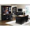 Liberty Furniture St. Ives 4-Piece Standard Desk Office Suite