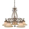 Vaxcel Avenant 5 Light Kitchen Chandelier