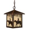 Vaxcel Trail 1 Light Outdoor Hanging Lantern