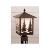 Vaxcel Yellowstone Tree 1 Light Outdoor Post Lantern