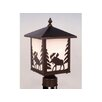 Vaxcel Yellowstone 1 Light Outdoor Post Lantern