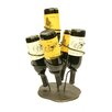 Creative Creations Xiafeng 5 Bottle Tabletop Wine Rack