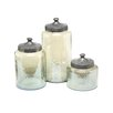 IMAX 3-Piece Round Luster Canister Set