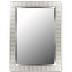 Hitchcock Butterfield Company Parma Silver / Stainless Liner Framed Wall Mirror