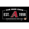Steiner Sports MLB Framed Man Cave Sign