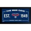Steiner Sports NBA Framed Man Cave Sign
