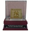 Steiner Sports New York Yankees Game Used Dugout Bench Slice with Glass Display Case