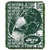 Northwest NFL New York Jets Triple Woven Jacquard Throw Blanket