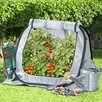 Flowerhouse SeedHouse Jr. 2.5 Ft. W x 2.5 Ft. D Polyethylene Mini Greenhouse