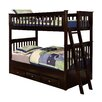 Discovery World Furniture Twin Over Twin Bunk Bed