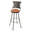 "Stone County Ironworks Standard 30"" Swivel Bar Stool with Cushion"