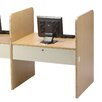 Smith Carrel Laminate Teaching II Carrel Starter