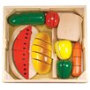 Melissa & Doug 31 Piece Cutting Food Box Play Set