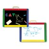 Melissa & Doug Magnetic Chalkboard & Dry Erase Board