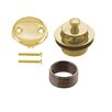 Westbrass Twist and Trip Lever Tub Drain Set