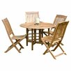 Buyers Choice Phat Tommy Celebration 5 Piece Dining Set