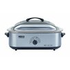 Nesco 18 Qt. Roaster Oven with Stainless Steel Cookwell