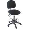 Bench Pro Mid-Back Tall Industrial Office Chair with Adjustable Seat Angle