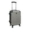 """Travelers Club Chicago 20"""" Hardside Spinner Suitcase"""