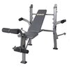 Body Flex Body Champ Standard Weight Bench with Butterfly