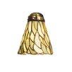 "Meyda Tiffany 5"" Jadestone Bell Ceiling Fan Fitter Shade"