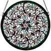 Meyda Tiffany Tiffany Dragonfly Swirl Medallion Window