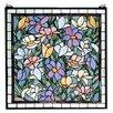 Meyda Tiffany Tiffany Sugar Magnolia Stained Glass Window