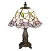 "Meyda Tiffany Tiffany 11.5"" H Mini Table Lamp with Bell Shade"