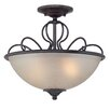 Designers Fountain Tangier 2 Light Semi-Flush Mount