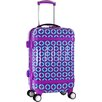 """J World Taqoo 20"""" Spinner Carry-On Suitcase"""