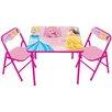 Kids Only Princess Erasable Kids Square Activity Table Set