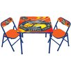 Kids Only Planes Fire & Rescue Kids Square Activity Table Set