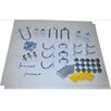 Triton Products White Polypropylene Pegboards