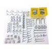 Triton Products 83 Piece Zinc Plated Steel Hook and Bin Assortment