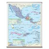Universal Map Essential Wall Map - Central America