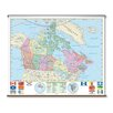 Universal Map Essential Wall Map - Canada
