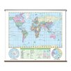 Universal Map Essential Wall Map - World
