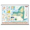 Universal Map Intermediate Thematic Wall Map - New York
