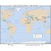 Universal Map World History Wall Maps - Early Civilizations