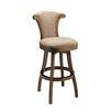 "Pastel Furniture Vanburen 30"" Swivel Bar Stool with Cushion"